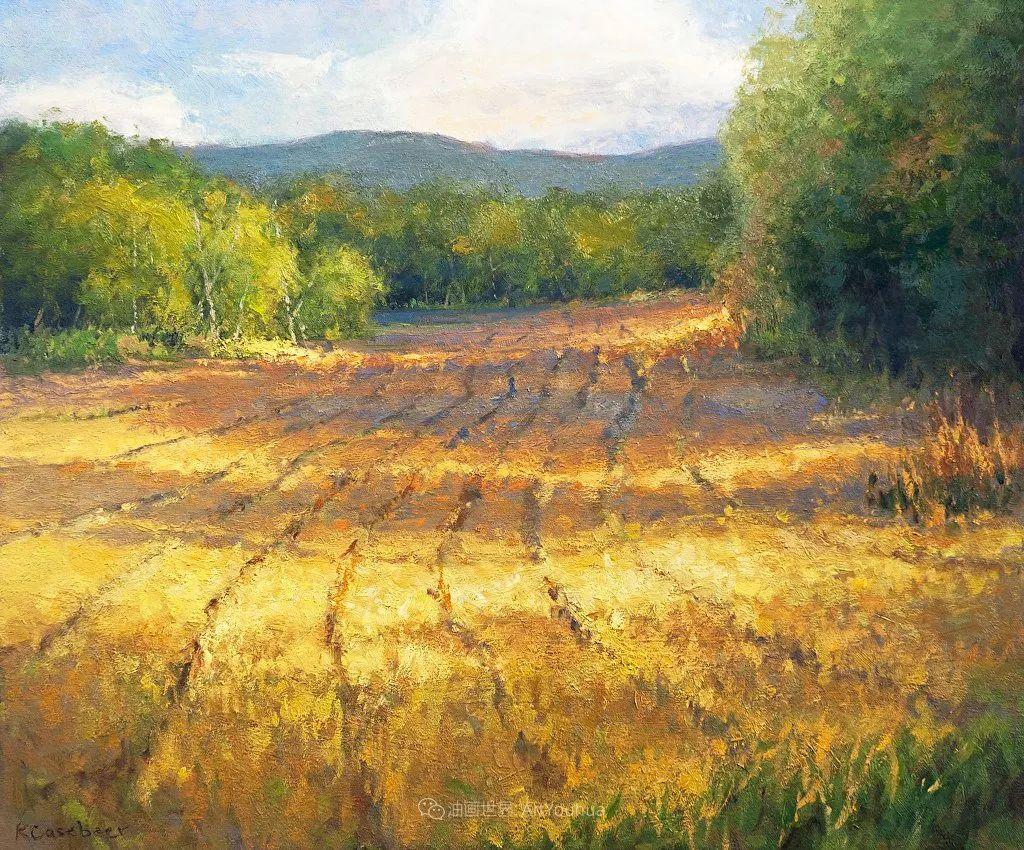 农场长大的女画家,笔下风景堪称一绝!美国Kim Casebeer作品选 (上)插图101