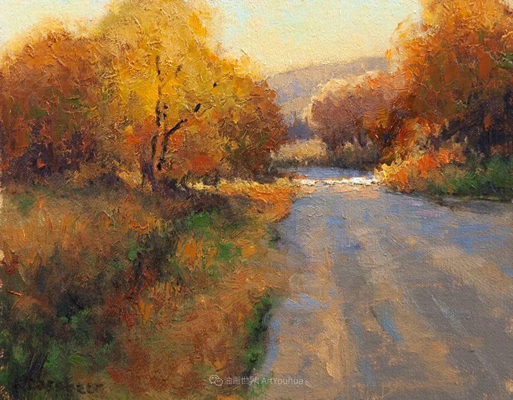 农场长大的女画家,笔下风景堪称一绝!美国Kim Casebeer作品选 (上)插图107