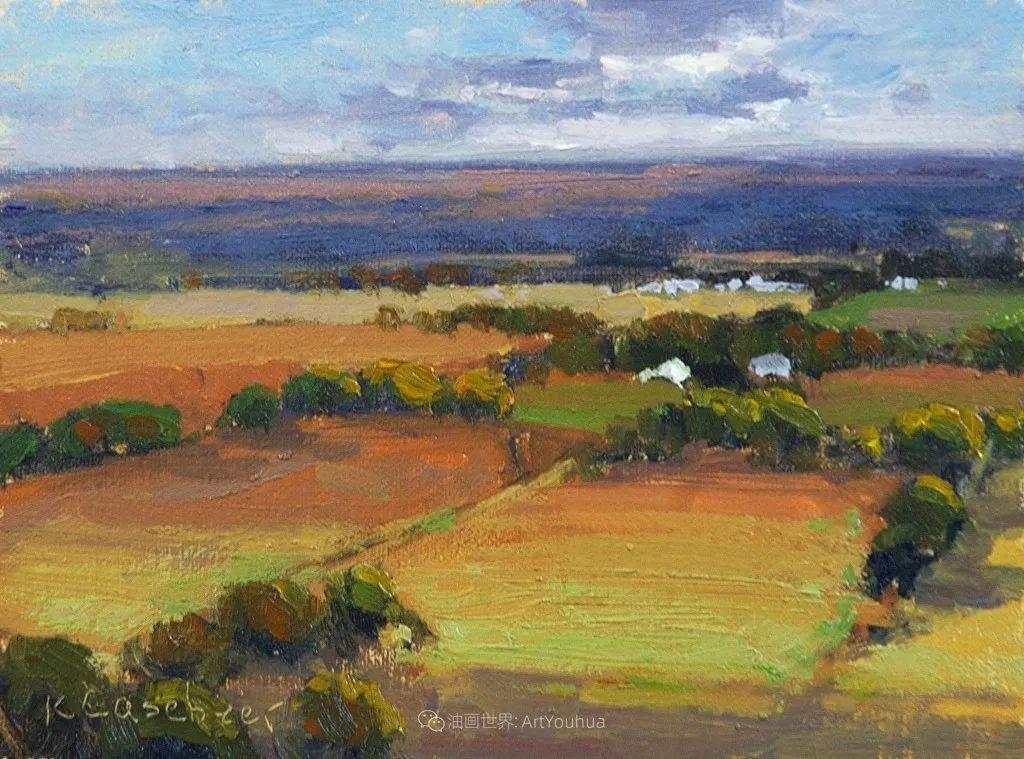 农场长大的女画家,笔下风景堪称一绝!美国Kim Casebeer作品选 (上)插图109