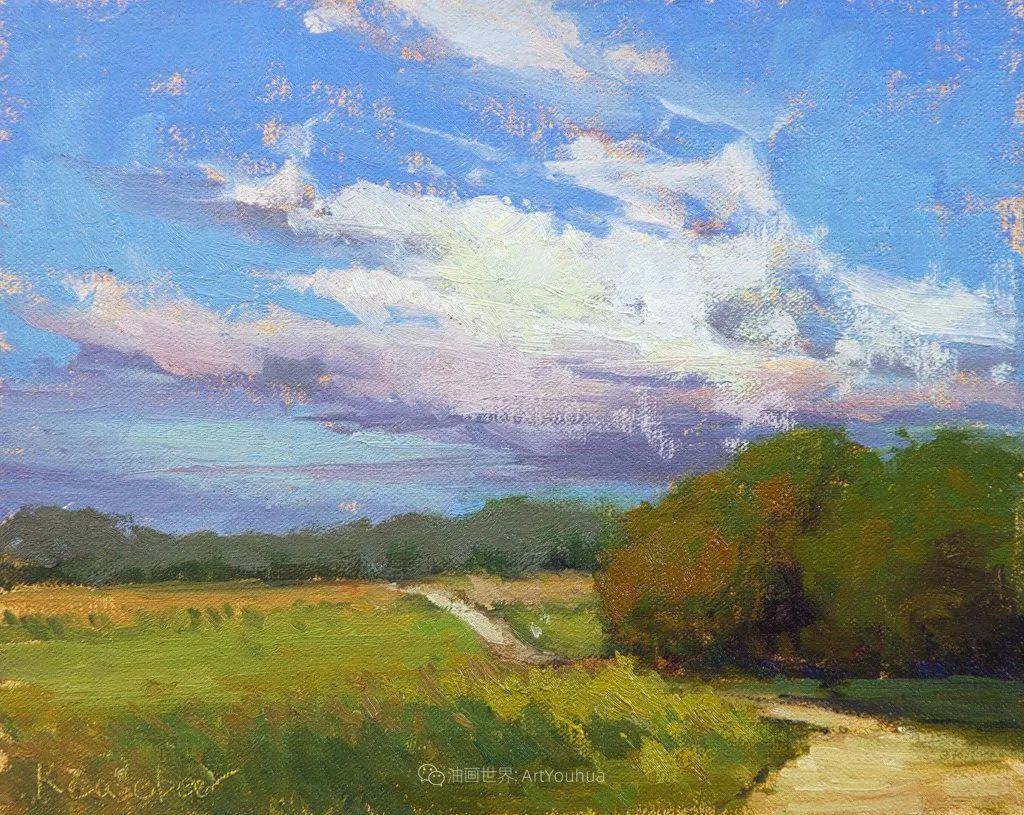 农场长大的女画家,笔下风景堪称一绝!美国Kim Casebeer作品选 (上)插图113