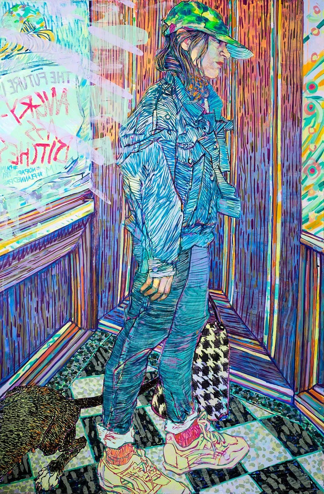 用平静的笔触描绘强烈的感情,美国艺术家Hope Gangloff作品选插图3