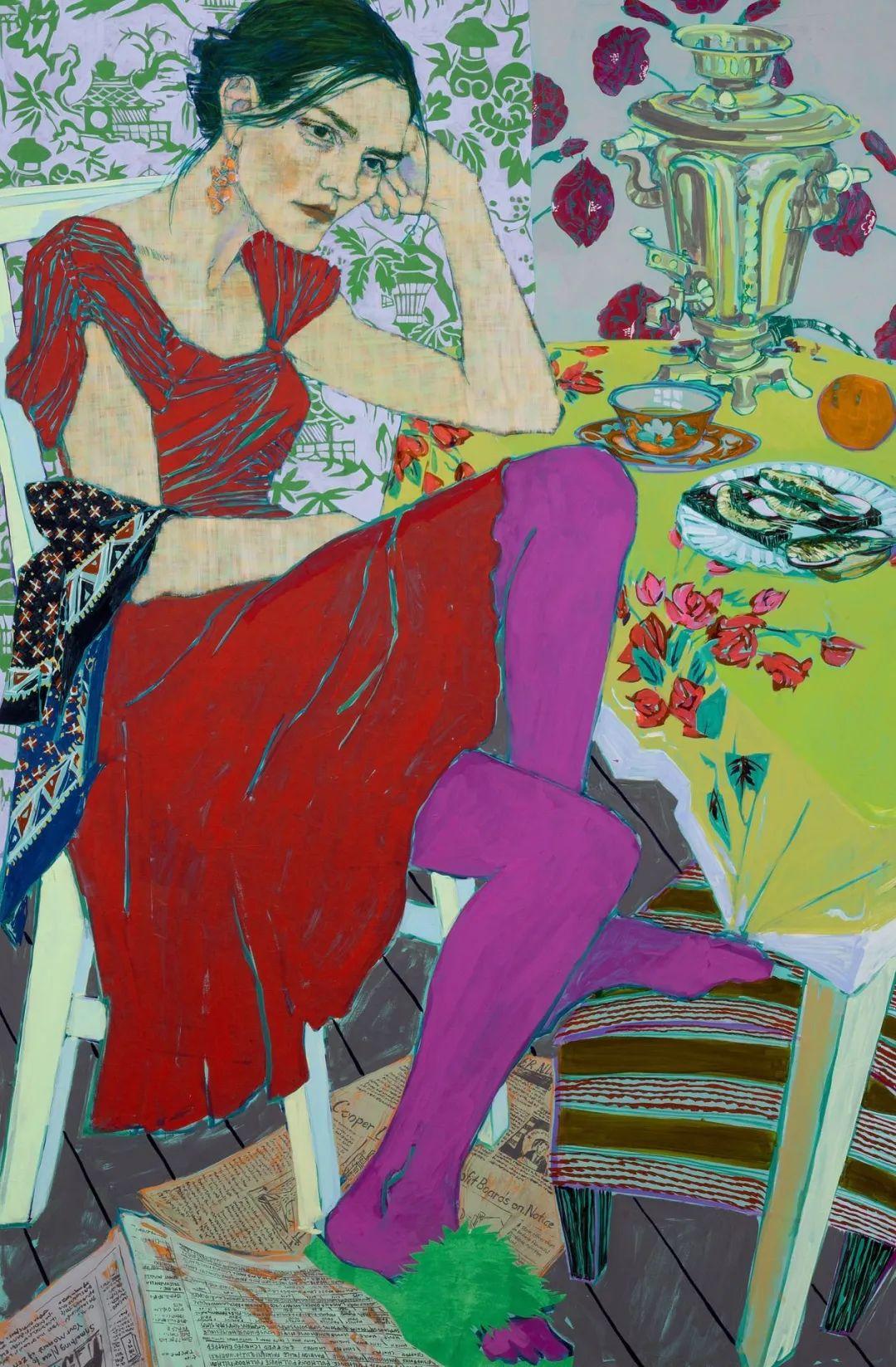 用平静的笔触描绘强烈的感情,美国艺术家Hope Gangloff作品选插图9