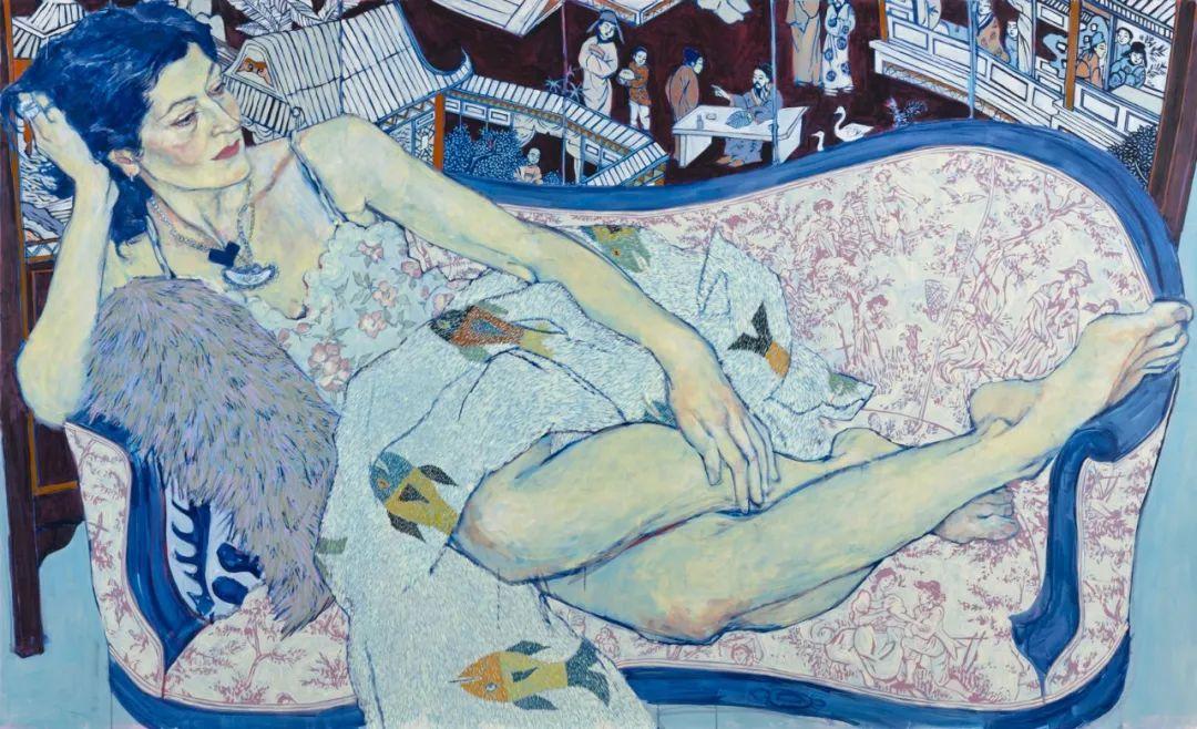 用平静的笔触描绘强烈的感情,美国艺术家Hope Gangloff作品选插图13