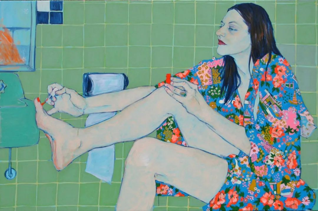 用平静的笔触描绘强烈的感情,美国艺术家Hope Gangloff作品选插图15