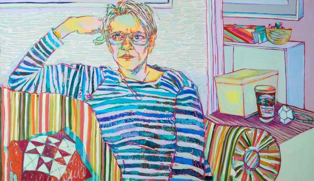 用平静的笔触描绘强烈的感情,美国艺术家Hope Gangloff作品选插图23
