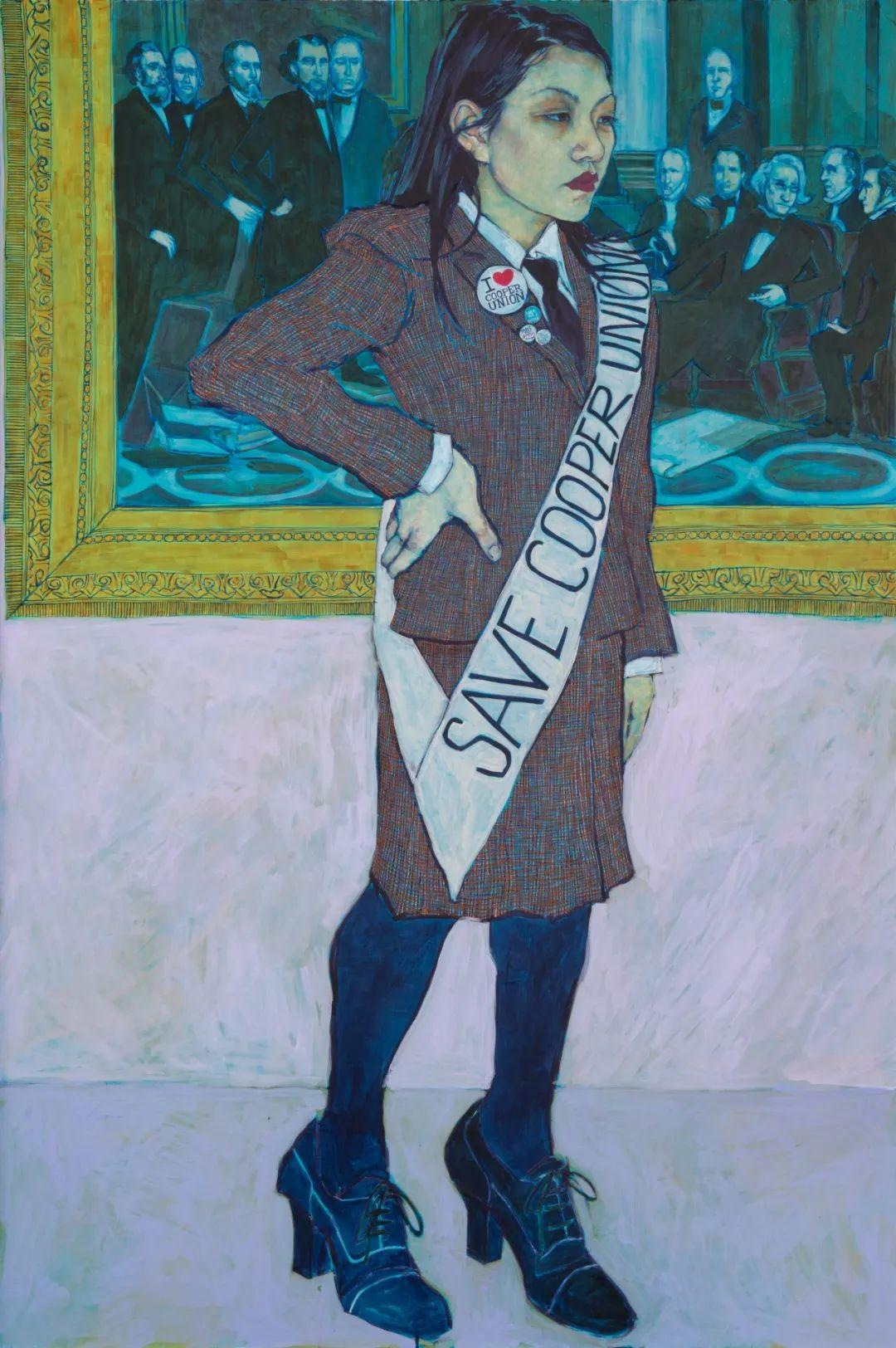用平静的笔触描绘强烈的感情,美国艺术家Hope Gangloff作品选插图27