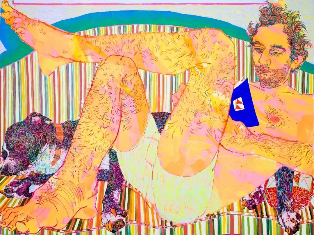 用平静的笔触描绘强烈的感情,美国艺术家Hope Gangloff作品选插图45