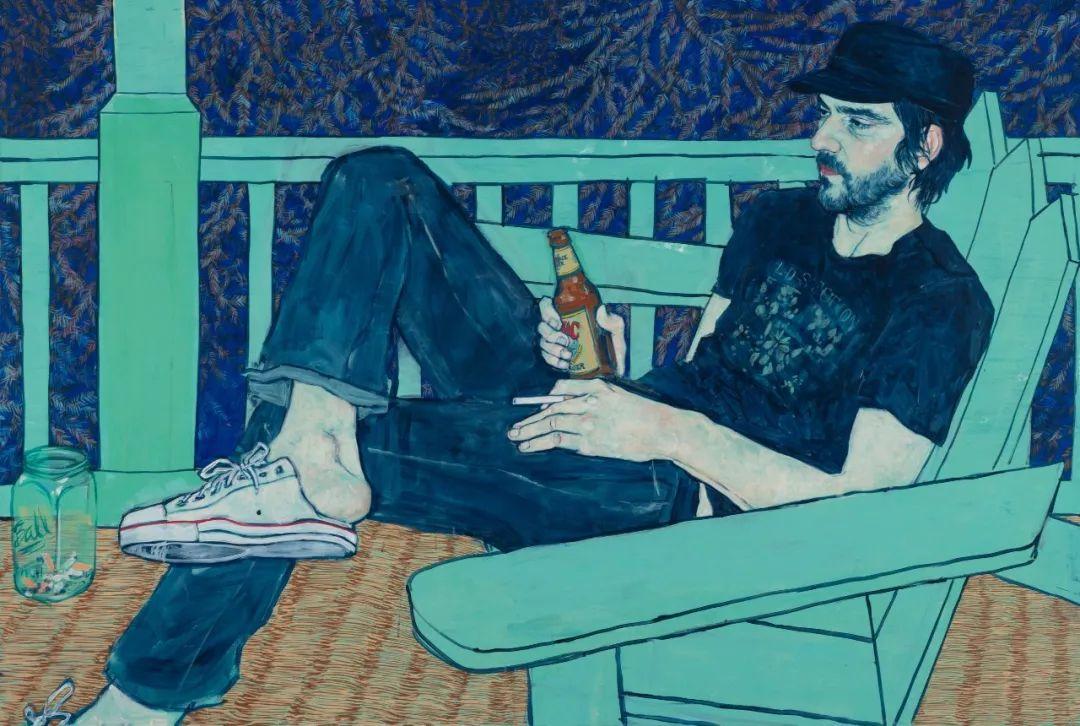 用平静的笔触描绘强烈的感情,美国艺术家Hope Gangloff作品选插图57