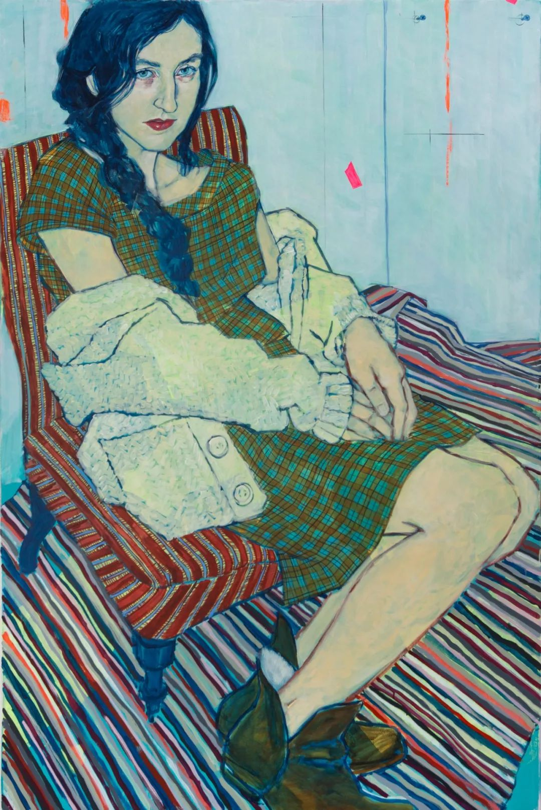 用平静的笔触描绘强烈的感情,美国艺术家Hope Gangloff作品选插图59