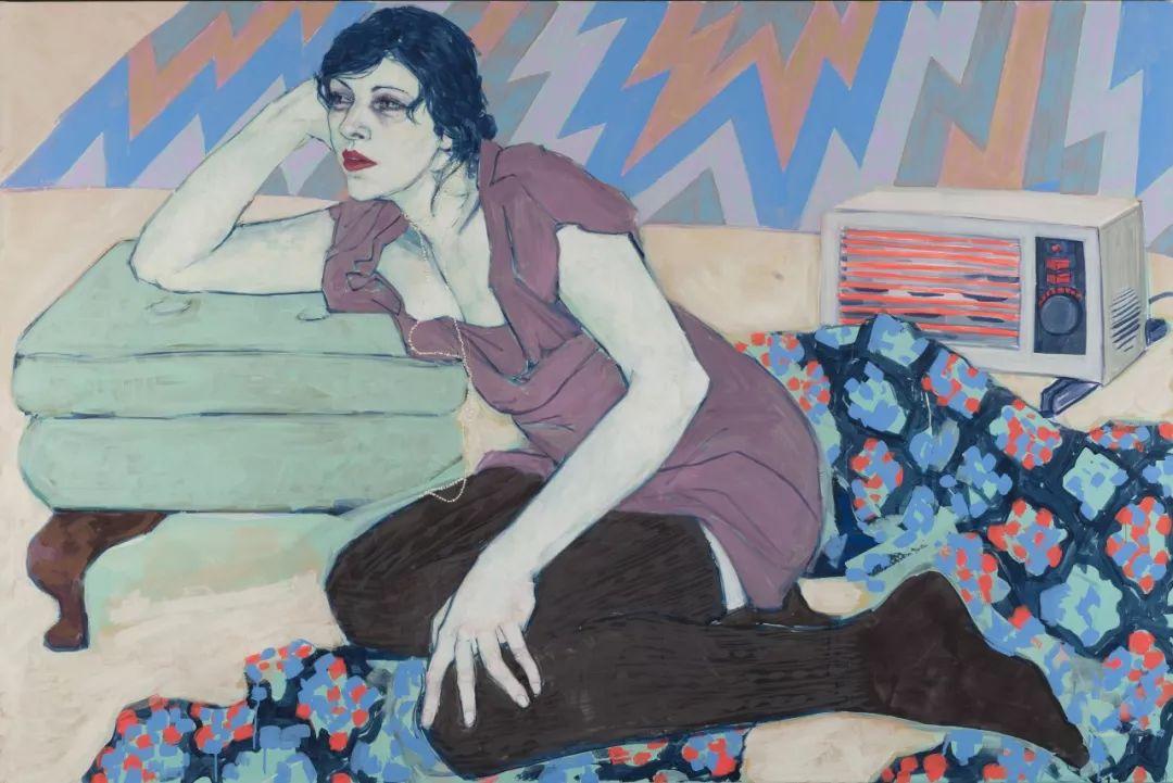 用平静的笔触描绘强烈的感情,美国艺术家Hope Gangloff作品选插图61