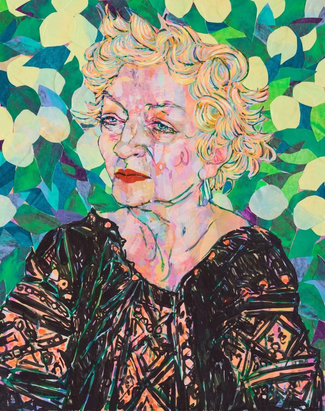 用平静的笔触描绘强烈的感情,美国艺术家Hope Gangloff作品选插图63