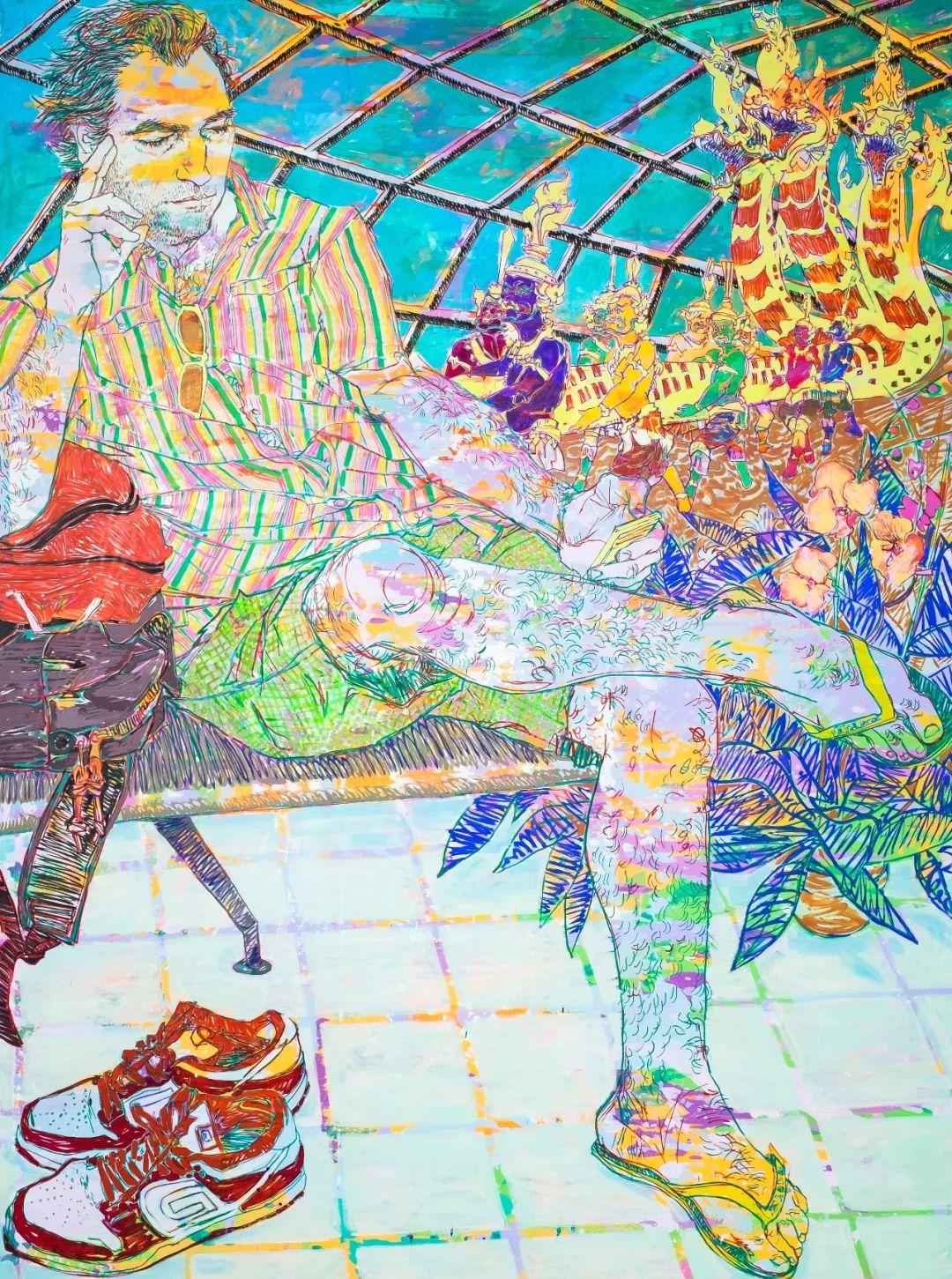 用平静的笔触描绘强烈的感情,美国艺术家Hope Gangloff作品选插图65