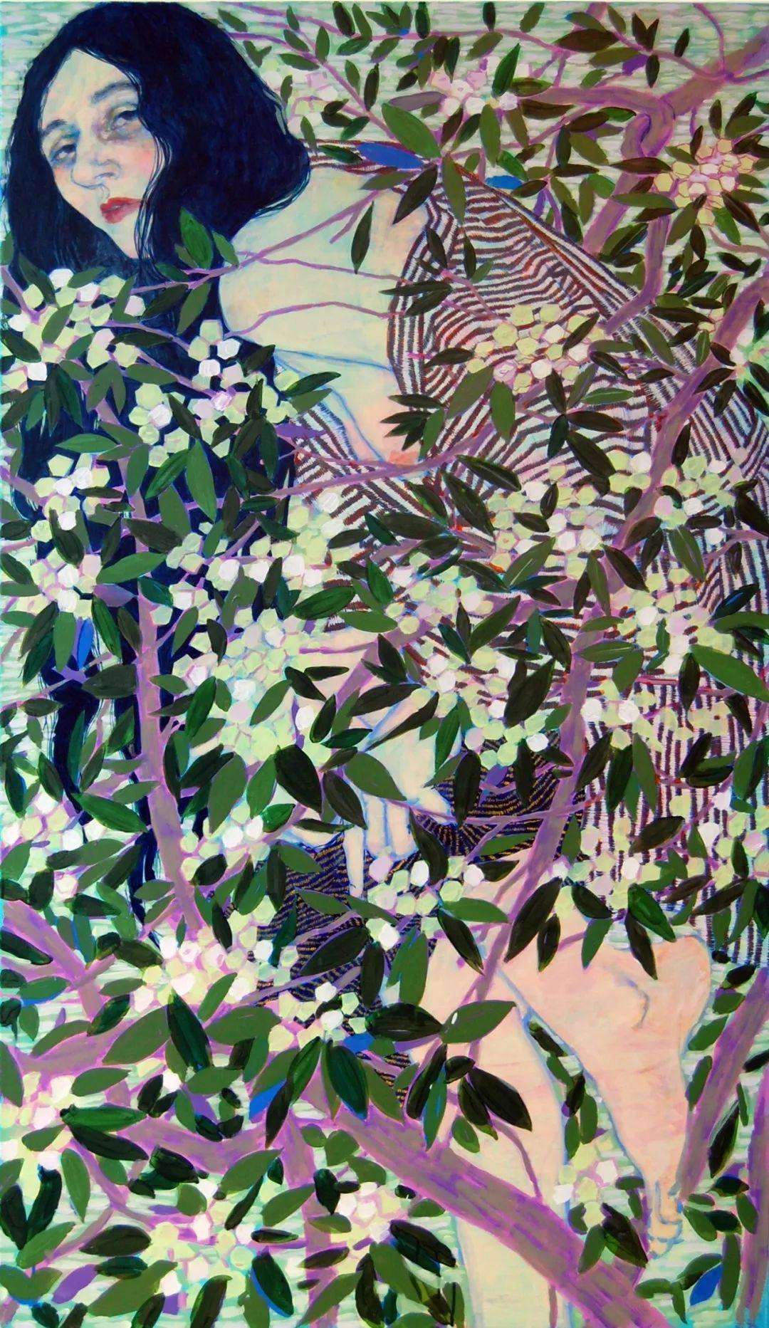 用平静的笔触描绘强烈的感情,美国艺术家Hope Gangloff作品选插图67