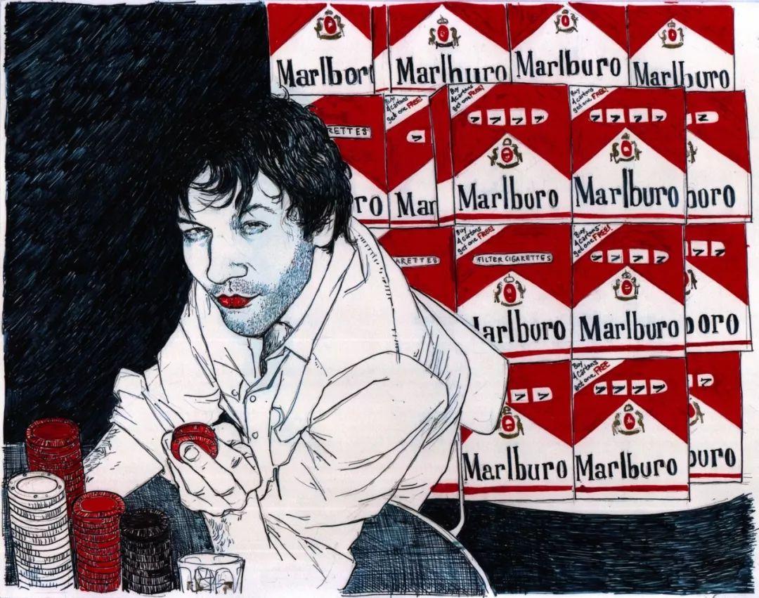 用平静的笔触描绘强烈的感情,美国艺术家Hope Gangloff作品选插图71