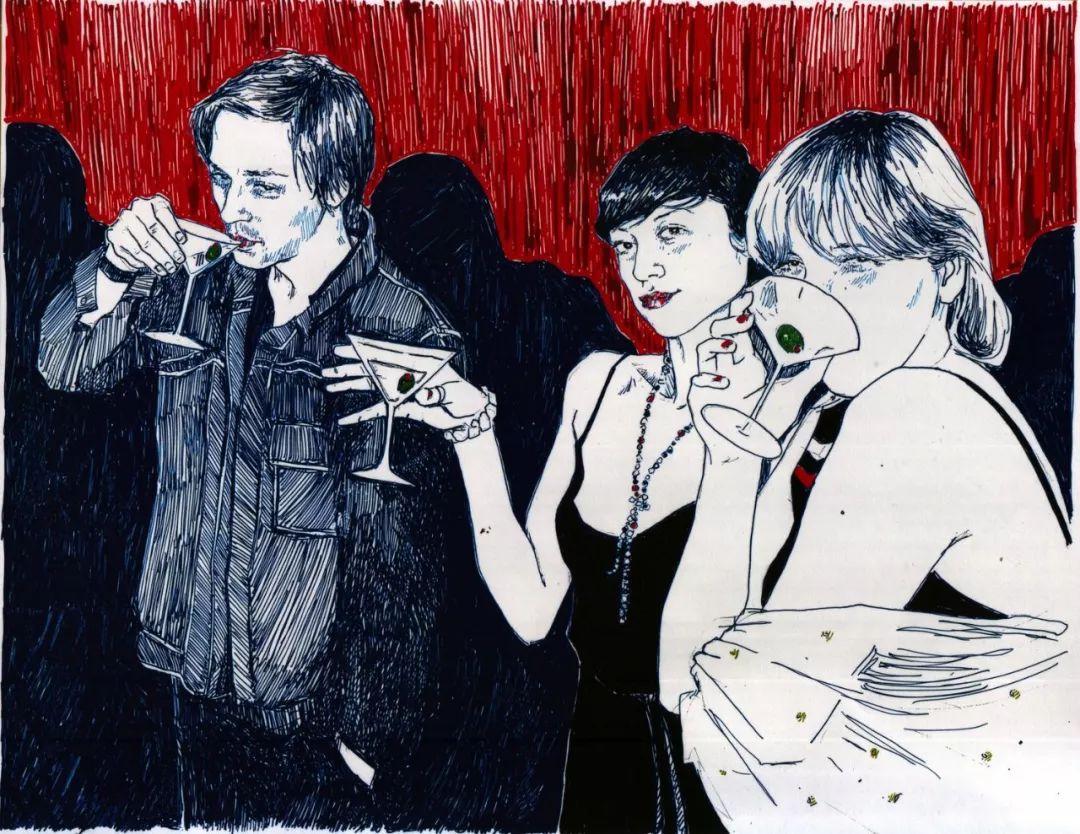 用平静的笔触描绘强烈的感情,美国艺术家Hope Gangloff作品选插图77