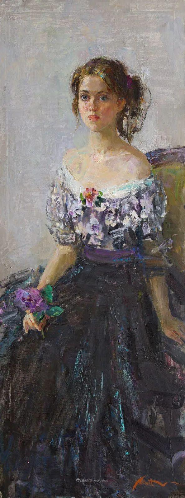 超美的具象油画色彩,俄罗斯青年女画家Anastasiya Matveeva插图3