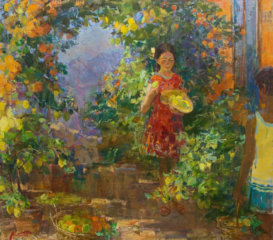 超美的具象油画色彩,俄罗斯青年女画家Anastasiya Matveeva插图11