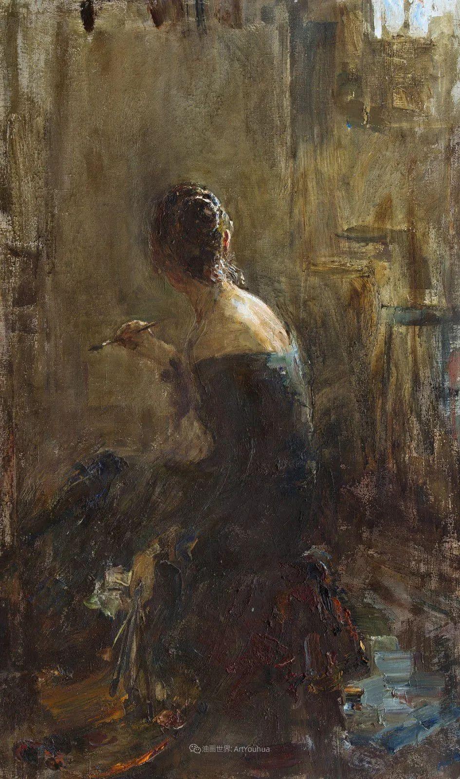 超美的具象油画色彩,俄罗斯青年女画家Anastasiya Matveeva插图19