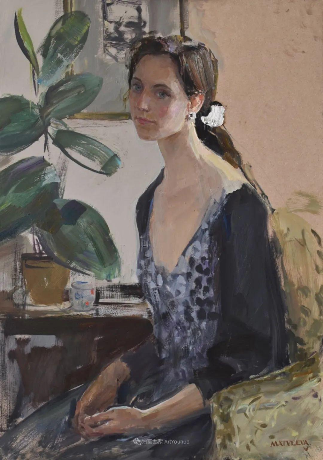 超美的具象油画色彩,俄罗斯青年女画家Anastasiya Matveeva插图29