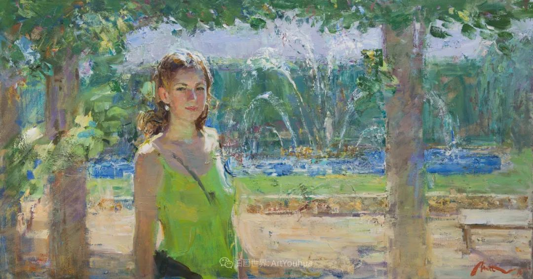 超美的具象油画色彩,俄罗斯青年女画家Anastasiya Matveeva插图43