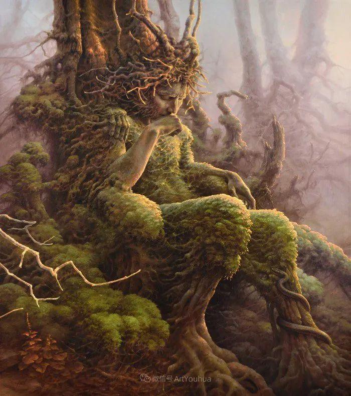 人的本性和宇宙的秘密,波兰艺术家托马斯·艾伦·科珀拉插图1