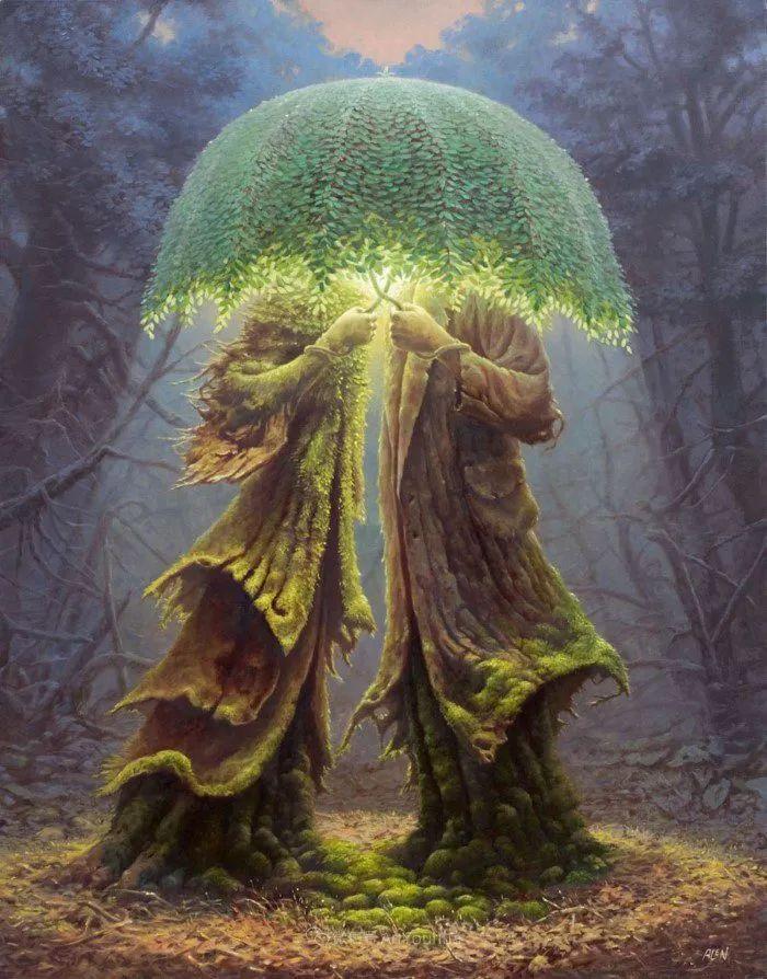 人的本性和宇宙的秘密,波兰艺术家托马斯·艾伦·科珀拉插图4