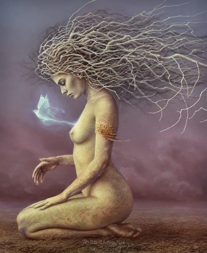 人的本性和宇宙的秘密,波兰艺术家托马斯·艾伦·科珀拉插图5