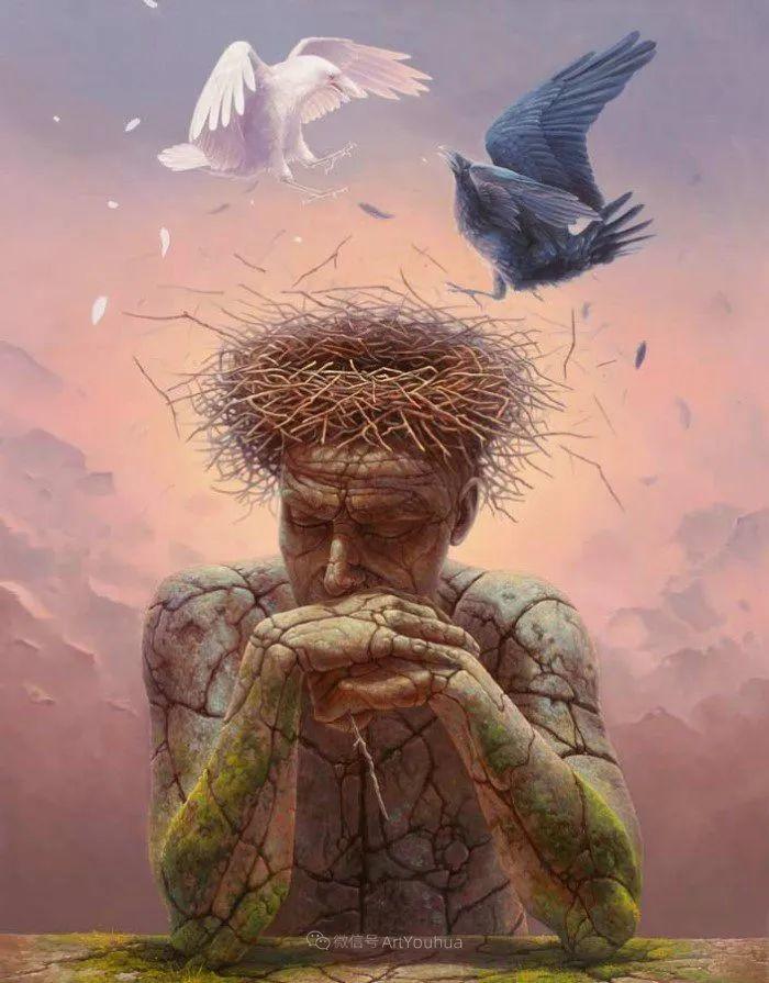 人的本性和宇宙的秘密,波兰艺术家托马斯·艾伦·科珀拉插图7