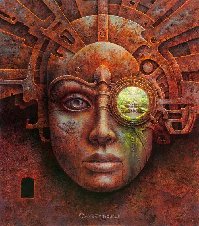 人的本性和宇宙的秘密,波兰艺术家托马斯·艾伦·科珀拉插图9