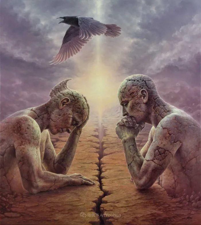 人的本性和宇宙的秘密,波兰艺术家托马斯·艾伦·科珀拉插图12