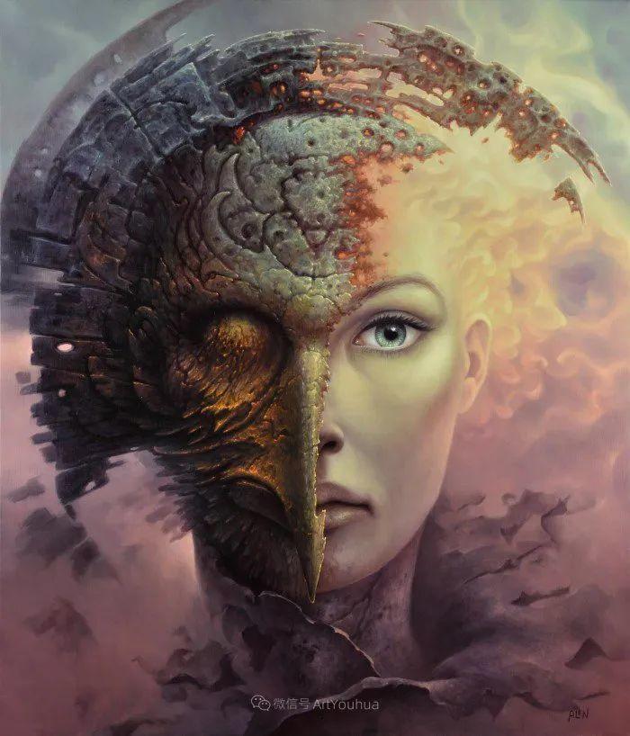 人的本性和宇宙的秘密,波兰艺术家托马斯·艾伦·科珀拉插图16