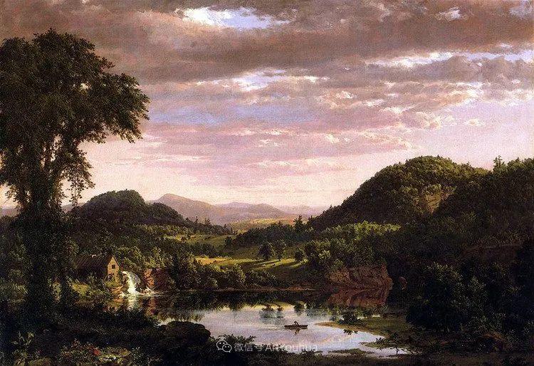 以浪漫光色效果,表达让人崇敬的神奇自然!美国画家Frederic Edwin Church插图29