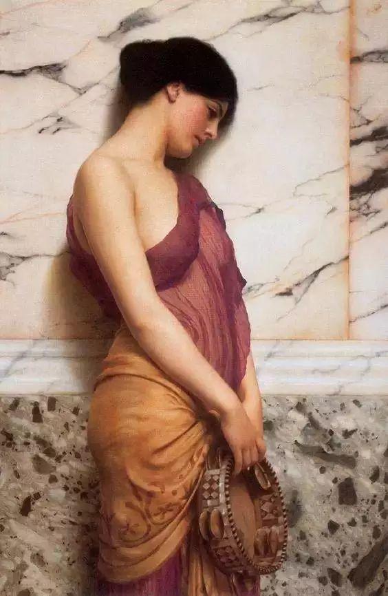 中外油画大师们笔下的女神,气质迷人!插图10