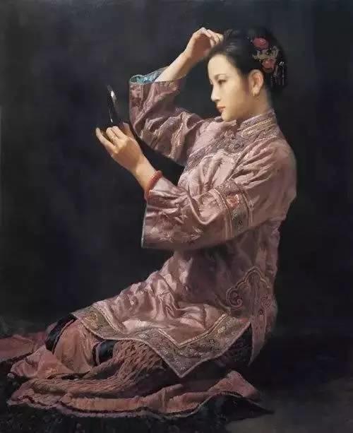 中外油画大师们笔下的女神,气质迷人!插图62