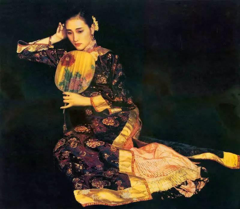 中外油画大师们笔下的女神,气质迷人!插图63