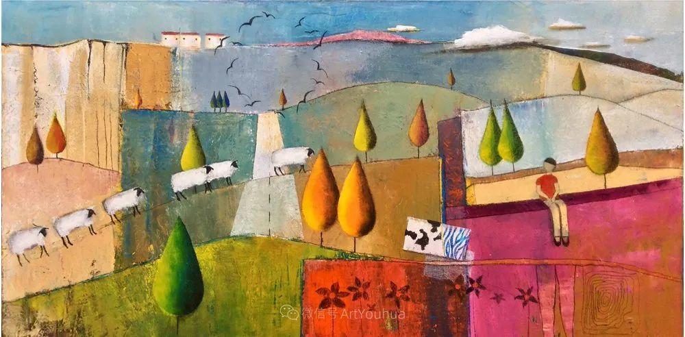风景篇,南非女艺术家达琳·梅林作品选(中)插图5