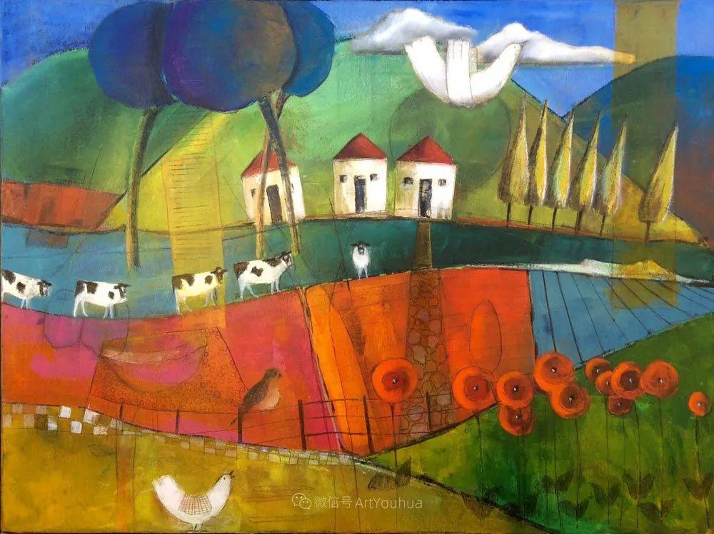 风景篇,南非女艺术家达琳·梅林作品选(中)插图9