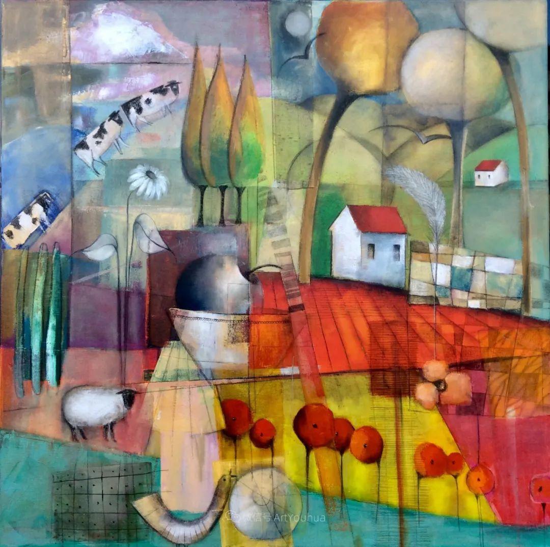 风景篇,南非女艺术家达琳·梅林作品选(中)插图13