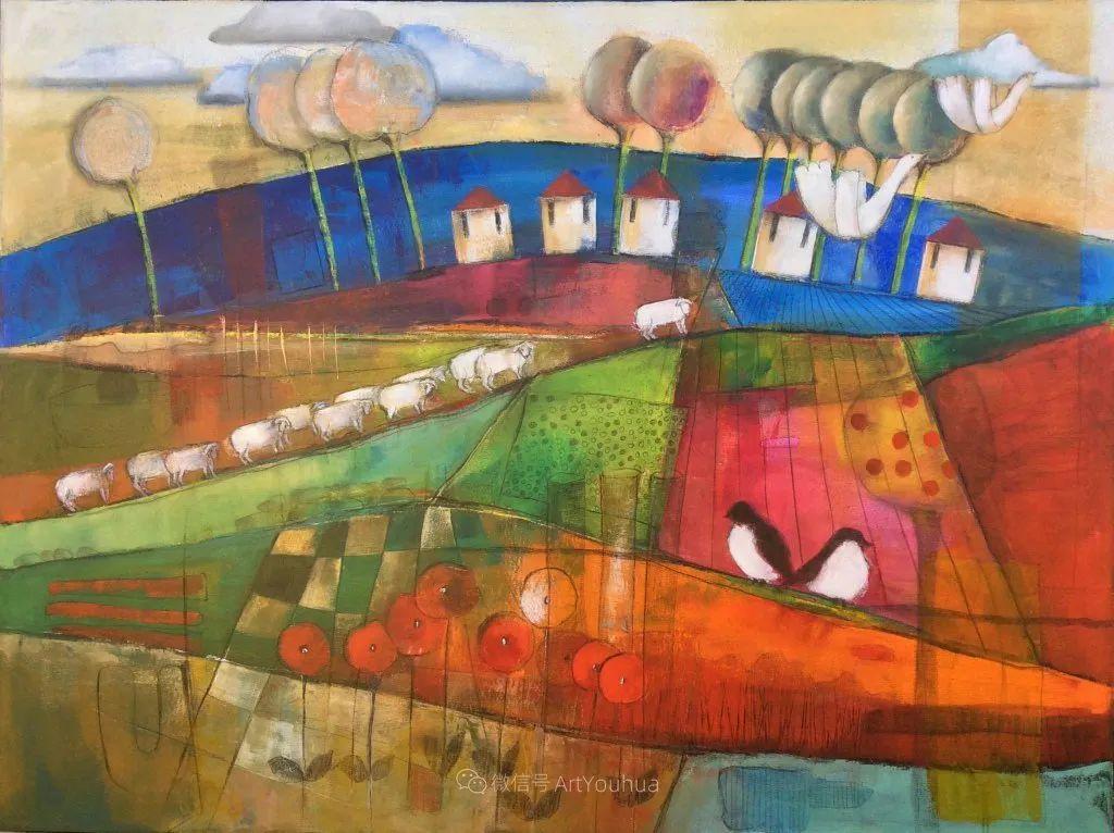 风景篇,南非女艺术家达琳·梅林作品选(中)插图15