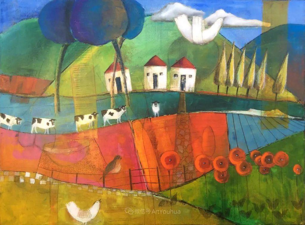 风景篇,南非女艺术家达琳·梅林作品选(中)插图17