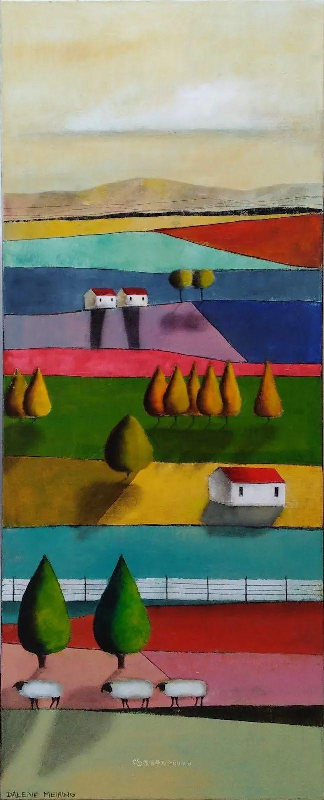 风景篇,南非女艺术家达琳·梅林作品选(中)插图25