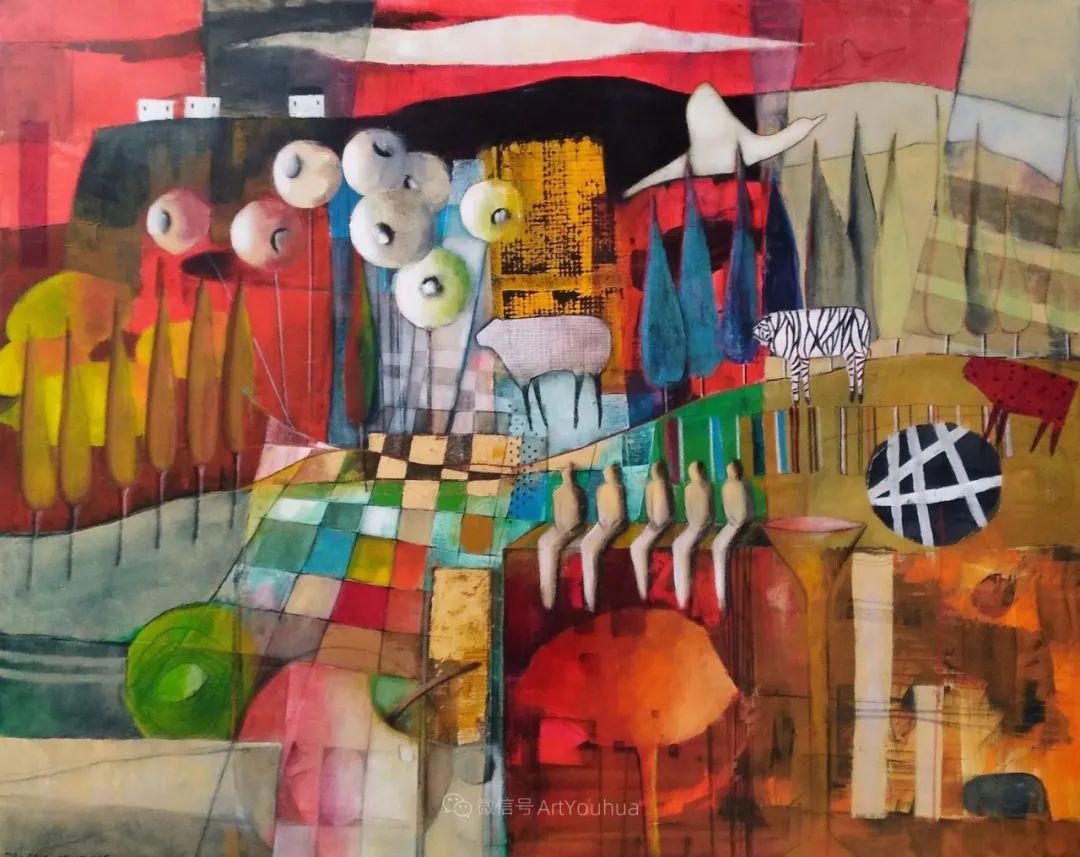 风景篇,南非女艺术家达琳·梅林作品选(中)插图27