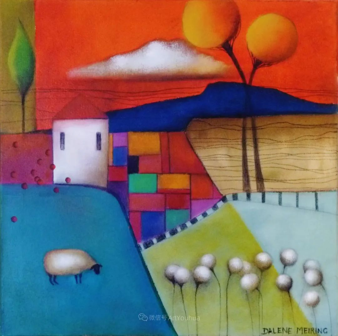 风景篇,南非女艺术家达琳·梅林作品选(中)插图29