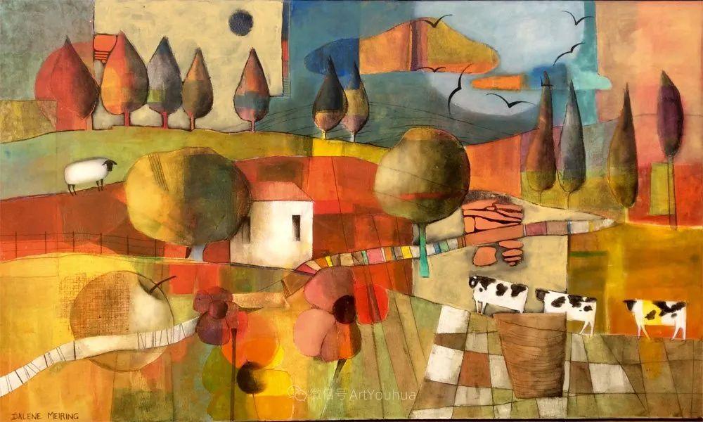 风景篇,南非女艺术家达琳·梅林作品选(中)插图35