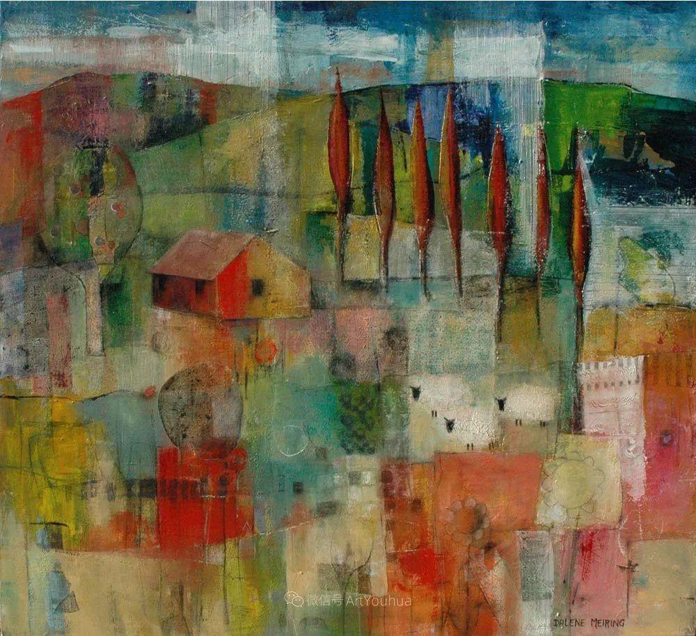 风景篇,南非女艺术家达琳·梅林作品选(中)插图39