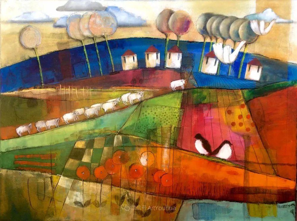 风景篇,南非女艺术家达琳·梅林作品选(中)插图41