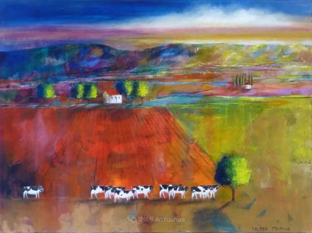 风景篇,南非女艺术家达琳·梅林作品选(中)插图43