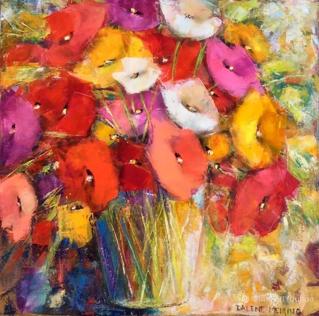 花卉欣赏,南非女艺术家达琳·梅林作品选(上)插图3