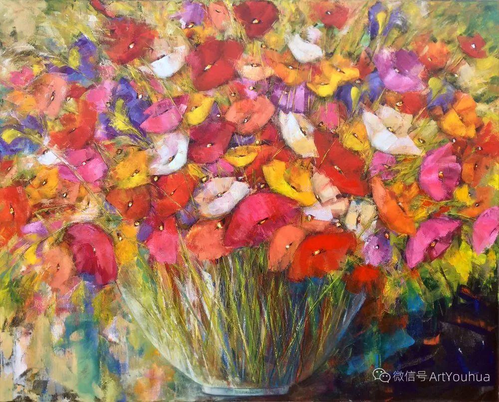 花卉欣赏,南非女艺术家达琳·梅林作品选(上)插图9
