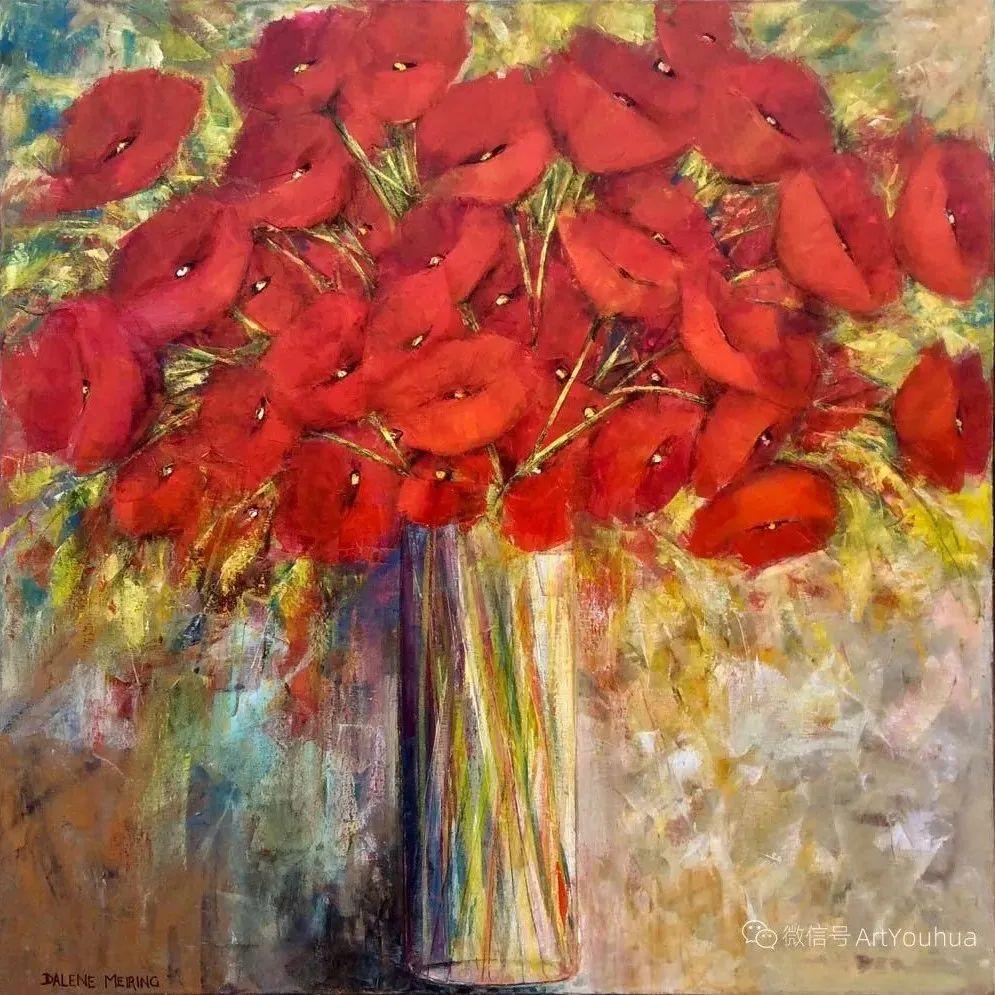 花卉欣赏,南非女艺术家达琳·梅林作品选(上)插图11